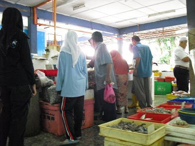 タンピンの市場3