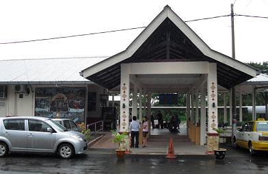 タンピン駅舎