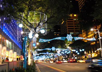 シンガポールの夜景1