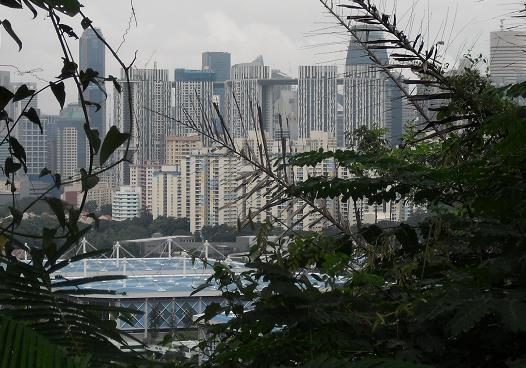 シンガポールの街・遠望1