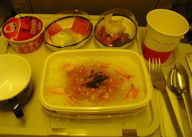 機内食・朝食1