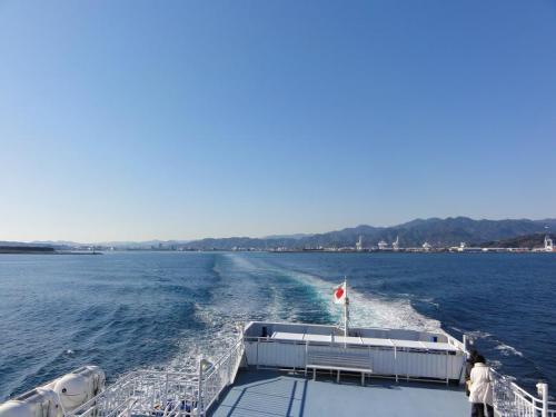 清水港出航