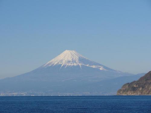 土肥港富士山