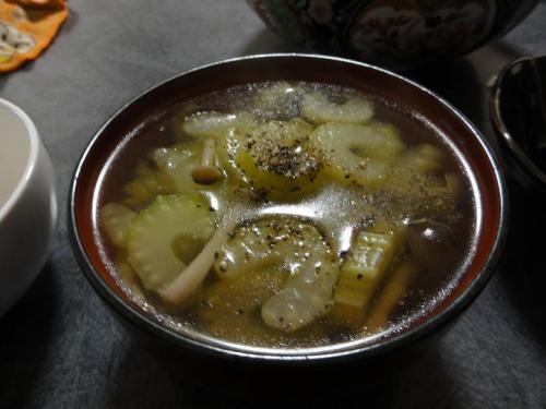 セルリースープ