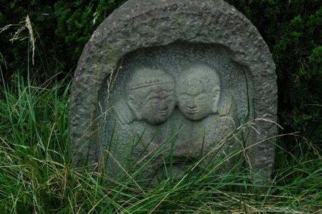 高安寺の道祖神札