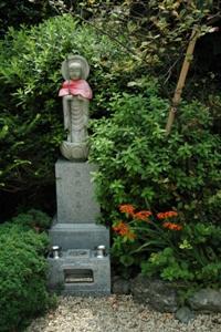 法音寺の地蔵