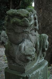 熊川神社の狛犬