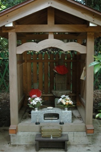 村社神明社の狛犬