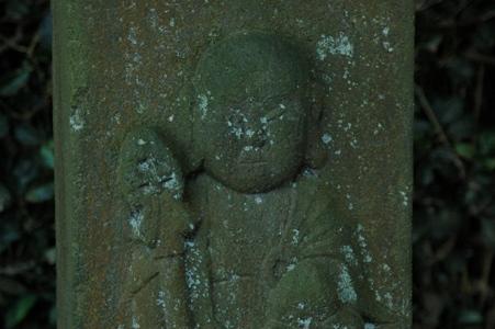 蓮華寺の石仏