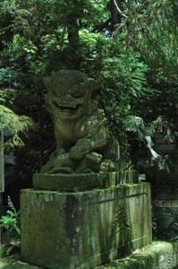 阿蘇神社の狛犬