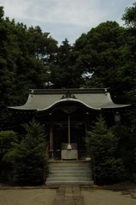 稲荷神社の拝殿