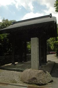 寿徳寺の山門