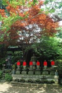 寿徳寺の六地蔵