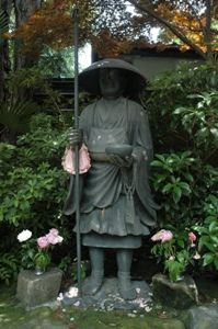 寿徳寺の弘法大師像
