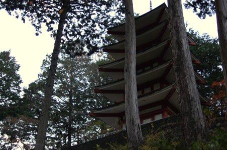 愛宕神社の五重塔