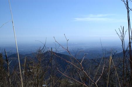 男具那ノ峰山頂からの眺め