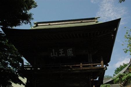 宋禅寺の鐘楼門