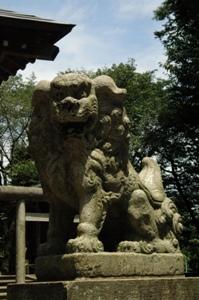 高木神社の狛犬