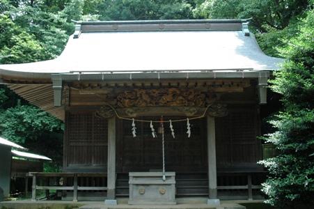 山神社拝殿