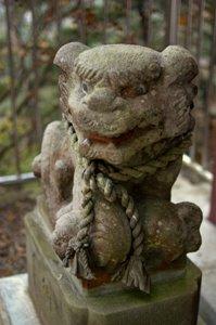 愛宕神社の狛犬あ行