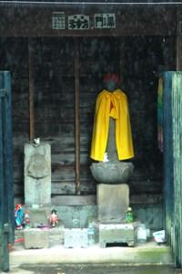 武蔵国分寺山門前の地蔵堂