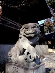 大島神社の狛犬