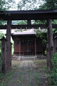 貝取神社 二の鳥居