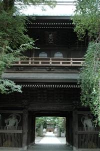 高安寺仁王門