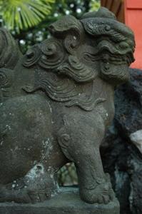 長楽寺の狛犬