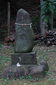 白山神社の土公神