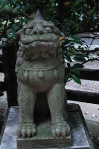 住吉神社 大鷲神社の狛犬