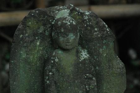 安養寺の石仏