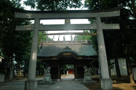 小野神社の鳥居