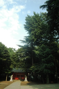 小野神社境内