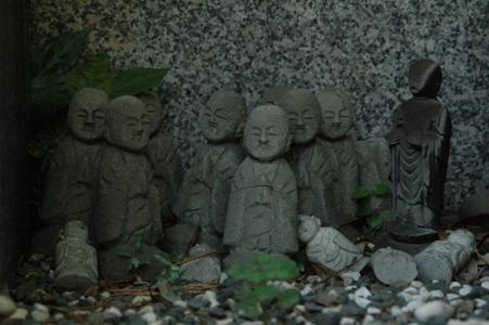 普門寺の小地蔵