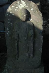 甲州街道沿いの石仏たち
