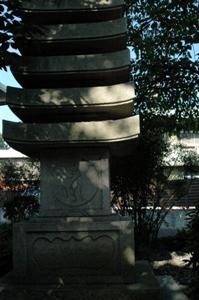 普門寺の仏塔
