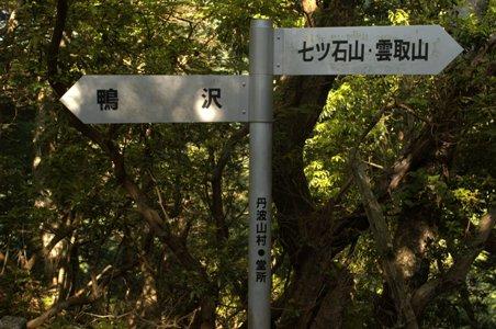 堂所の道標