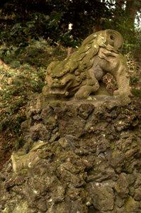 天祖神社狛犬