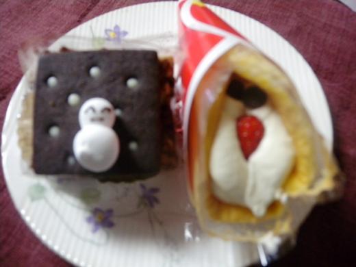 六花亭クリスマスケーキDSCN1661