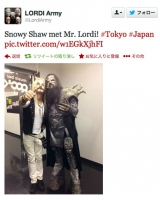 Snowy&Lordi at LOUD PARK 13
