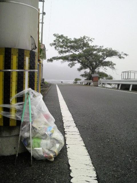 7月5日早朝のゴミ