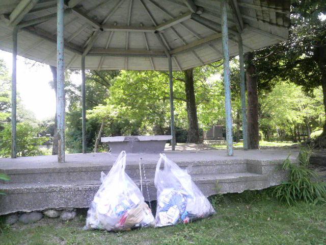 7月26日(月):緑の回廊線、最後のゴミ