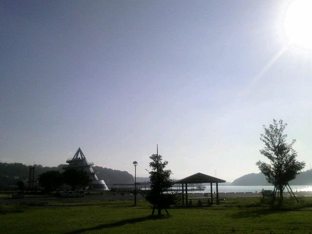 海のピラミッドと三角東港:宇城市三角町