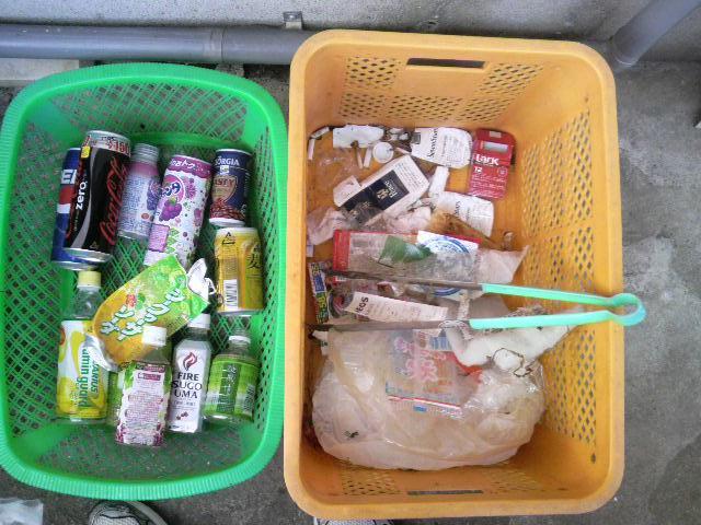 2010年9月5日のゴミ