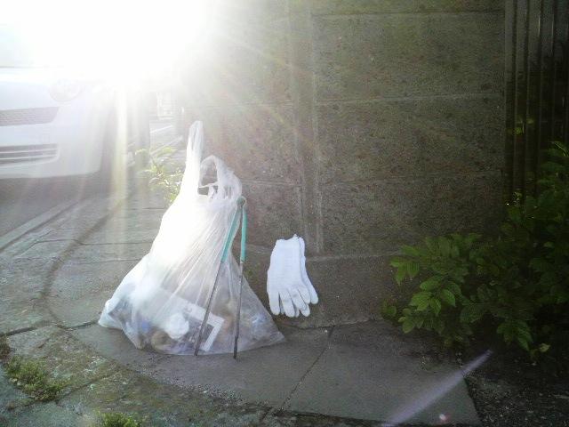 6月2日早朝のゴミ