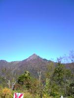 西側から眺めた石鎚山2