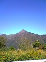 西側から眺めた石鎚山1