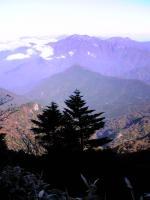 石鎚山ニノ鎖上からの眺望5