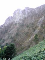 石鎚山ニノ鎖上からの眺望1